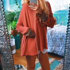 Altar'd State Autumn Knit Tunic 🌿